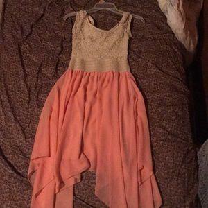 Cute pink spring dress